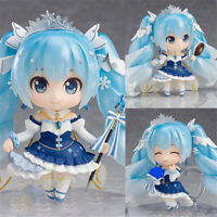 Nendoroid Hatsune Miku Snow Miku Snow Princess PVC Figure Toy In Box