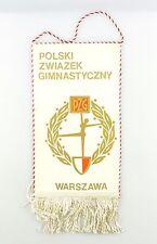 #e6371 Original Old Pennant Polski zwiazek gimnastyczny PZG Warszawa (Poland)