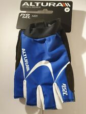 Altura proGEL Cycling Mitts, Blue, Medium, Excellent Condition
