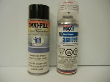 Touch Up Custom Mix Spray Can Automotive Paint for Harley Vivid Black Base Coat
