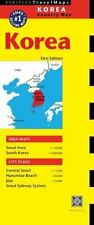 Korea & Seoul Travel Map First Edition (Periplus Travel Maps)