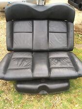 VW Golf Mk3 Cabriolet Convertible Black Leather Colour Concept Rear Seat