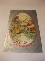 Postkarte Ansichtskarte Künstlerkarte Osterkarte Glückwunschkarte Ostern 1907