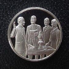 FRANKLIN Mint STERLING SILVER Mini-Ingot: 1923 Calvin COOLIDGE Becomes President