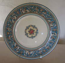 "Wedgwood Florentine Turquoise Rim Fruit CTR 8"" Salad Plate"