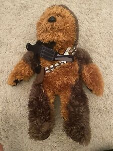 "Talking Sound Chewbacca Plush Build A Bear Star Wars 22""  Laser"