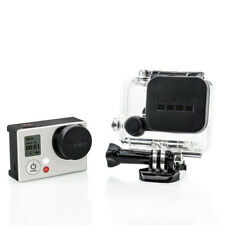 Protective Waterproof Lens Cap Cover & Housing Case Cover for Gopro HD Hero 4/3+