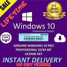 ✔️Windows10 Pro ✔️Key Professional ✔️License 32-64 bit Activation ✔️Genuine Key