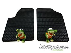 4 x Gummi-Fußmatten ☔ für CITROEN Berlingo I Van 1999 - 2010