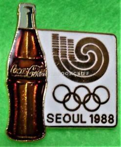1988 SEOUL OLYMPICS Pin Mint COKE