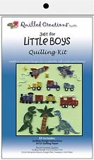 Quilled Creations Paper Quilling Kit  JUST FOR LITTLE BOYS  Vehicles  ~ 413