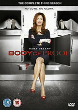 BODY OF PROOF COMPLETE SERIES 3 DVD Third Season Dana Delany Jeri Ryan New UK R2