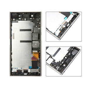 LCD Display Touch Screen Digitizer Frame For Sony Xperia XZ Premium G8142 Silver