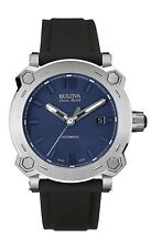 Bulova Accu-Swiss 63B190 Percheron Men's Swiss Made Automatic Watch $1295 NEW