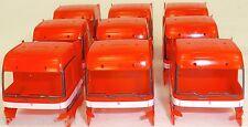 10 X Camión Cabina Mercedes 1843 Rojo Carga Manualidades Decoración 1:87 H0 Å
