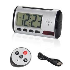 Quality Mini HD DVR Hidden Camera Alarm Clock Motion Detection DV Video Recorder