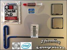 2008 Mac Pro 3,1 2X 3 GHz Quad Core 45-nm Intel Xeon E5472 Harpertown CPUs Kit