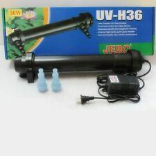 UV Sterilizer Lamp For Aquarium Pond Fish Tank Ultraviolet Filter Water Cleaner