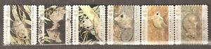 Australia: full set of 6 used stamps, Threatened Species, 1992, Mi#1279-1284
