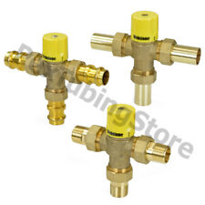 """Webstone Thermostatic Mixing Valve 1/2"""", 3/4"""" or 1"""" - Threaded/Sweat, LEAD-FREE"""