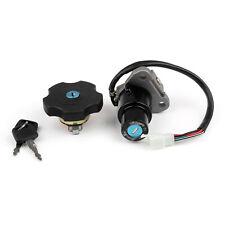 Ignition Switch Seat Gas Cap Cover Lock Key Set Pour Yamaha XT600 TW200 XT225 AF