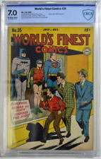 WORLD'S FINEST COMICS #35 CBCS 7.0 Superman Batman 1948 CGC 3rd Highest Grade