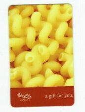 Hills Market Gift Card - Gourmet Food Grocery Store - Macaroni Noodles -No Value