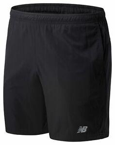 New Balance Men's Core 7 Inch Woven Short Black