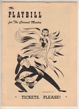 "Larry Kert Debut! ""Tickets, Please!"" 1950 Playbill  The Hartmans"