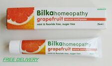 Bilka Grapefruit  Toothpaste Menthol, Fluoride and Sugar Free/HOMEOPATHY NATURAL