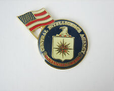 Flag Cia Lapel Pin Central Intelligence Agency with U.S.