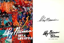 LeRoy Neiman SIGNED Art & Life Style 1st/1st + Photo RARE!