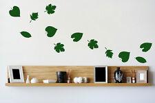 Huge Set of LEAFS 37 x Leaf Vinyl Wall / Car / Laptop Wall Stickers High Quality