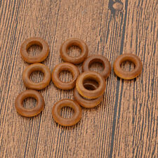 10 Pcs Dreadlock Rings Wooden Hair Braiding Accessories Decoration Extension
