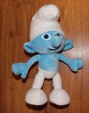"The SMURFS Original Cartoon Character SMURF Stuffed PLUSH DOLL Toy 9"""