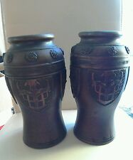 Stunning Vintage Pair Of Japanese Vases