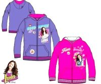 Disney Girls SOY LUNA Hoodie Baseball Jacket Cardigan Sweat Top,6,8,10,12YEARS
