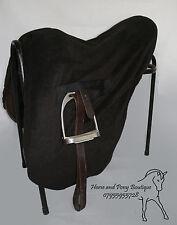 RIDE ON FLEECE SADDLE COVER Ride on black polar fleece ALL SIZES, SADDLE PROTECT