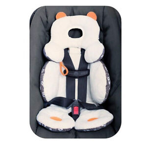 Baby Car Seat Stroller Soft Cushion Pads Liner Mat Head Body Support Pillow AU