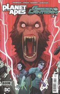 Planet of the Apes Green Lantern #4A Mora Variant VF 2017 Stock Image