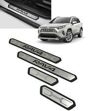2019-2021 Rav4 Door Sill Protectors 4 Piece Set Oem Genuine Toyota Pk382-42K01