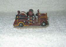 Boyd's Town Village Figurine - Engine Btfd (Fire Truck) - Dated 2000