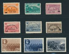 ALBANIA 1948, Mi. 442-47 + 456-58 **/MNH, two issues!! Very fine!!