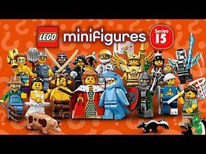 LEGO MINIFIGURES SERIES 15 71011 - CHOOSE YOUR LEGO SERIES 15 MINI FIGURE