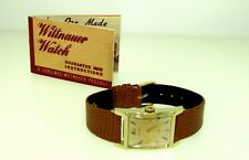 GORGEOUS 1950'S LONGINES 9LT SOLID 14K GOLD MENS DRESS WRISTWATCH VERY CLEAN!!!!