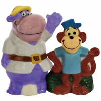 Westland Giftware Peter Potamus So-So Salt Pepper Shaker Magnetic Hanna Barbera