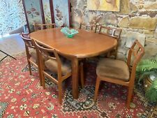 Retro Mid Century Vintage Danish Deluxe Dining Suite~Ext Table,Chairs~Eames Era