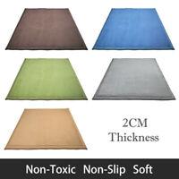 Baby Play Mat Crawl Rug Plush Blanket Carpet 2cm Thickness 2x1.8/2.4M Non-Toxic