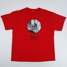 Goo Goo Dolls 2002 Here is Gone Mens XXL 2XL Red Cotton Graphic Band T Shirt
