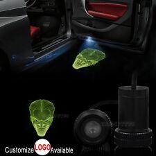 2x Car Door Illusion Joker Man Logo LED Lamp Laser Projector Ghost Shadow Light